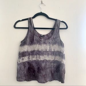 Urban Outfitters Sparkle & Fade Chiffon Tank - XS